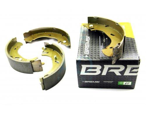 Тормозные колодки задние барабанные (280х65мм) Renault Master II / Opel Movano 1998-2010 GF0231 BREMSI (Италия)