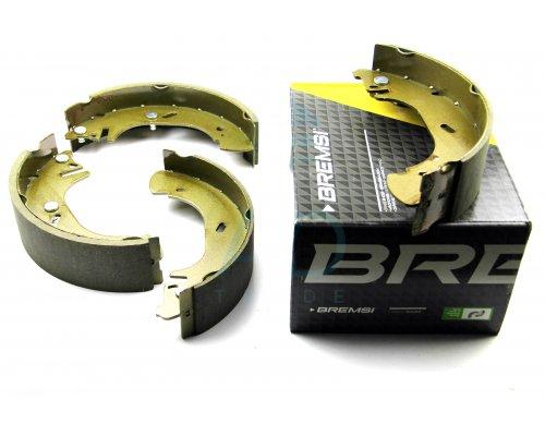 Тормозные колодки задние барабанные (280х65мм) Renault Master II / Opel Movano 1998-2010 GF0233 BREMSI (Италия)