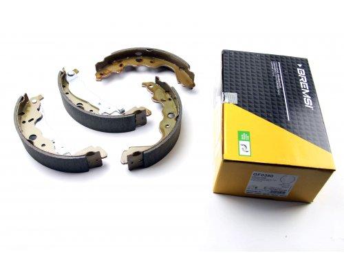 Тормозные колодки задние (барабанные) Renault Kangoo II / MB Citan 2008- GF0390 BREMSI (Италия)