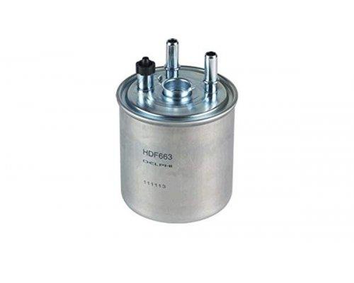 Фильтр топливный (с датчиком воды, до 05.2009) Renault Kangoo II 1.5dCi 2008-2009 HDF663 DELPHI (США)
