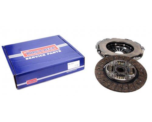 Комплект сцепления (корзина + диск) MB Vito 639 2.2CDI (85/100/110kW, двигатель OM646) 2003- HK2323 BORG & BECK (Великобритания)