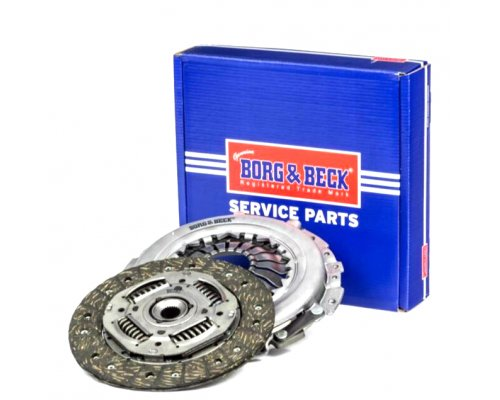 Комплект сцепления (корзина + диск) MB Vito 639 (двигатель OM651) 2.2CDI 2010- HK2579 BORG & BECK (Великобритания)