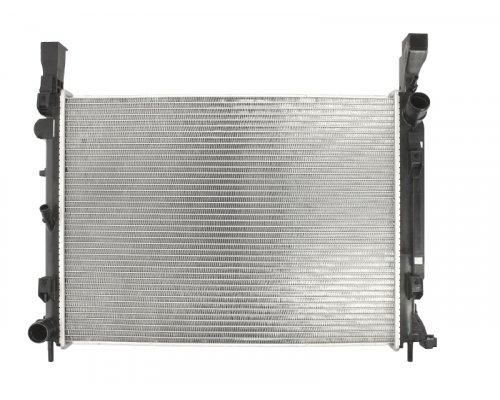 Радиатор охлаждения (430x560x26мм) Renault Kangoo II 1.5dCi 2008- HL8MK376755-504 HELLA (Германия)