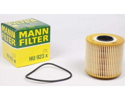 Фильтр масляный Renault Trafic II / Opel Vivaro A 2.5dCi 99kW 03-14 HU923X MANN (Германия)