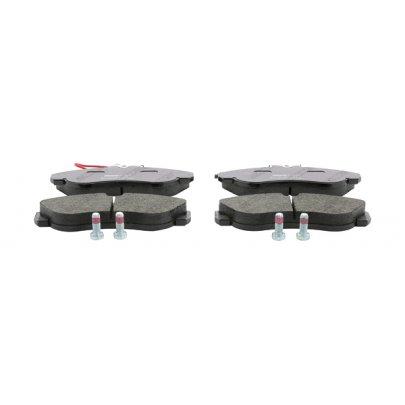 Тормозные колодки передние (с датчиком, R16) Fiat Ducato / Citroen Jumper / Peugeot Boxer 1994-2002 JQ1011936 KAMOKA (Польша)