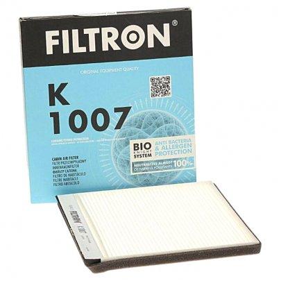 Фильтр салона (213х211х20) Peugeot Partner / Citroen Berlingo 1996-2008 K1007 FILTRON (Польша)
