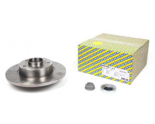Тормозной диск задний (с подшипником) Renault Trafic II / Opel Vivaro A 2001-2014 KF155.70U SNR (Франция)