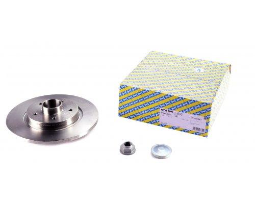 Тормозной диск задний (R15 / R16, с подшипником) Renault Kangoo II / MB Citan 2008- KF155.94U SNR (Франция)