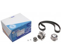 Комплект ГРМ + помпа VW Transporter T5 1.9TDI 03-09 KP879-1 GRAF (Италия)