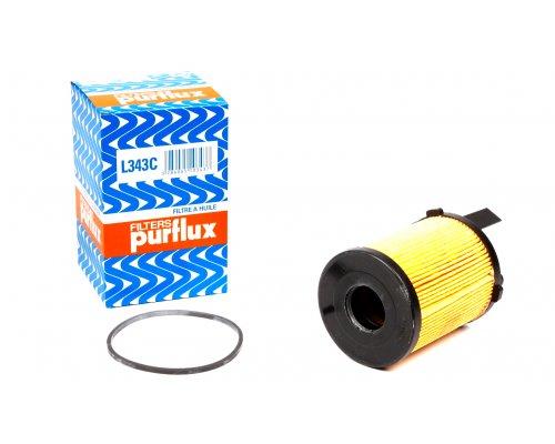 Фильтр масляный Fiat Scudo II / Citroen Jumpy II / Peugeot Expert II 1.6HDI 2007- L343C PURFLUX (Франция)