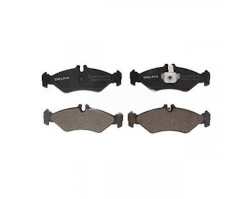 Тормозные колодки задние (141x50x17мм) MB Sprinter 208-316 1995-2006 LP1595 DELPHI (США)