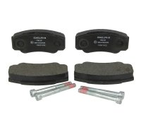 Тормозные колодки задние Fiat Ducato / Citroen Jumper / Peugeot Boxer 2002-2006 LP1790 DELPHI (США)