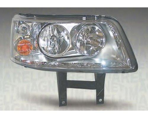 Фара передняя правая (тип ламп: H1 / H7) VW Transporter T5 2003-2009 LPL481 MAGNETI MARELLI (Италия)