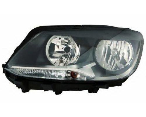 Фара передняя левая (тип ламп: H15 / H7) VW Caddy III 2010-2015 LPN412 MAGNETI MARELLI (Италия)