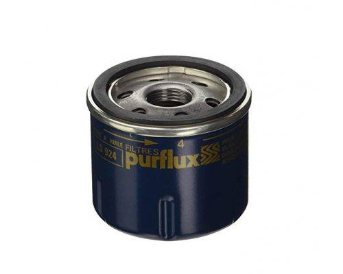 Масляный фильтр Renault Kangoo 1.0 / 1.2 (бензин) 1997-2008 LS924 PURFLUX (Франция)