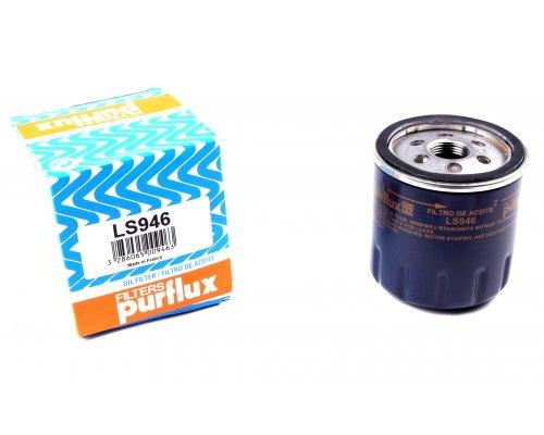Масляный фильтр (высота 79мм) Renault Kangoo II / MB Citan 1.5dCi 2012- LS946 PURFLUX (Франция)