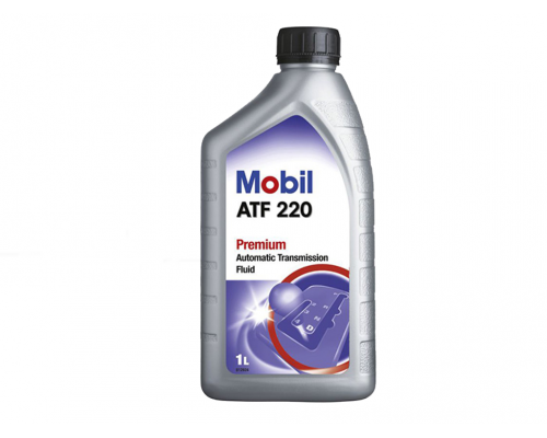 Жидкость ГУР (красная, 1л) MOBILATF220/266504/ MOBIL (США)