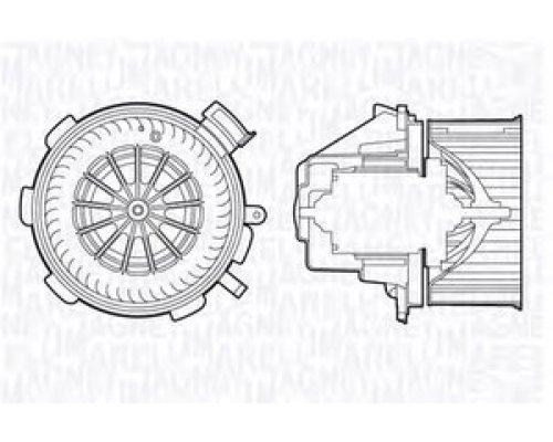 Моторчик печки (без кондиционера) VW Crafter 2006- MTE700AX MAGNETI MARELLI (Италия)