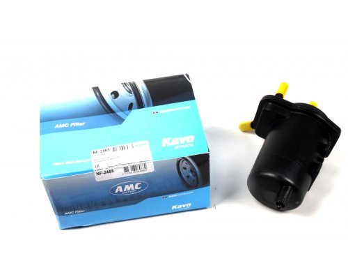 Фильтр топливный Renault Kangoo / Nissan Kubistar 1.5dCi 97-08 NF-2465 AMC FILTER (Япония)