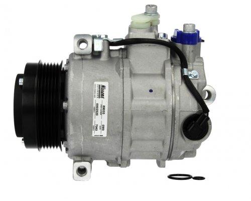 Компрессор кондиционера (двигатель: OM646, тип: 7SE17C, шкив 100мм) MB Sprinter 2.2CDI 2006 NIS89033 NISSENS (Дания)