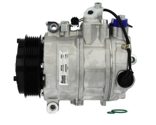 Компрессор кондиционера (двигатель: OM646, тип: 7SE17C, шкив 110мм) MB Sprinter 2.2CDI 2006- NIS89039 NISSENS (Дания)