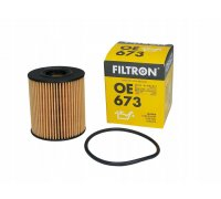 Фильтр масляный Peugeot Partner / Citroen Berlingo 1.1 / 1.4 / 1.6 (бензин) 1996-2008 OE673 FILTRON (Польша)
