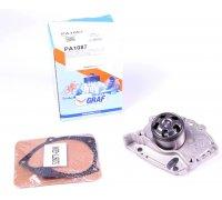 Помпа / водяной насос (с усиленным подшипником) Renault Trafic II / Opel Vivaro A 1.9dCi 2001-2014 PA1087 GRAF (Италия)