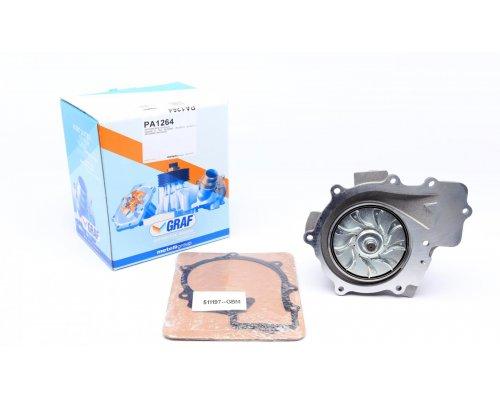 Помпа / водяной насос (двигатель: OM651, вакуумное управление, с функцией Старт-Стоп) MB Sprinter 906 2.2CDI 2009- PA1264 GRAF (Италия)