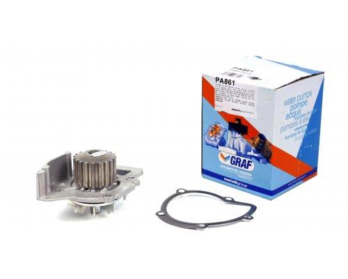 Помпа / водяной насос Fiat Scudo II / Citroen Jumpy II / Peugeot Expert II 2.0HDI 88kW, 100kW 2007- PA861 GRAF (Италия)