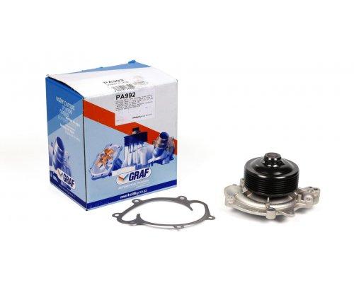 Помпа (двигатель: OM642, 7-ручейковый шкив) MB Vito 639 3.0CDI 2007- PA992 GRAF (Италия)