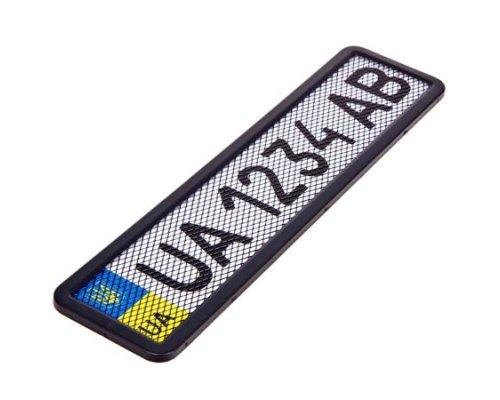 Рамка номерного знака (с сеткой) PHC-75055 ELIT (Чехия)