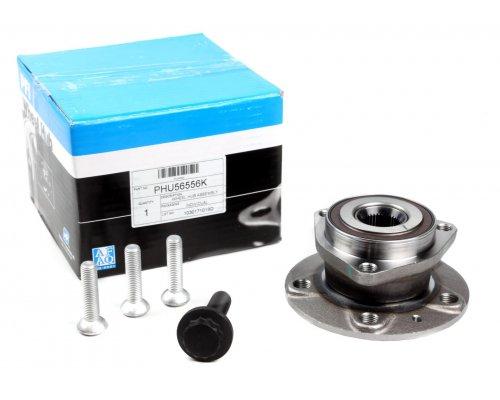 Подшипник ступицы передней (комплект, 3 болта) VW Caddy III 04- PHU56556K PFI (США)