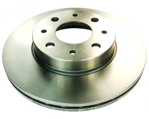 Тормозной диск передний (281x26мм) Fiat Scudo / Citroen Jumpy / Peugeot Expert 1995-2006 PRD2171 PROTECHNIC (Польша)