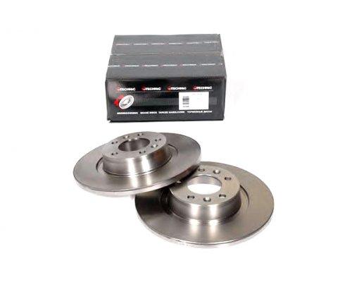 Тормозной диск задний Fiat Scudo II / Citroen Jumpy II / Peugeot Expert II 2007- PRD5281 PROTECHNIC (Польша)