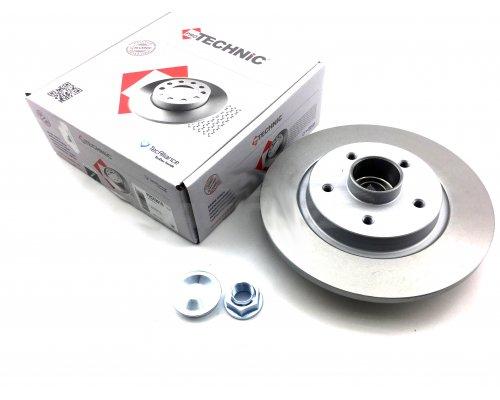 Тормозной диск задний (R15 / R16, с подшипником) Renault Kangoo II / MB Citan 2008- PRD5291B PROTECHNIC (Польша)