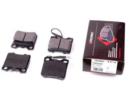 Тормозные колодки задние c датчиком (система ATE) MB Vito 638 1996-2003 PRP0050 PROTECHNIC (Польша)