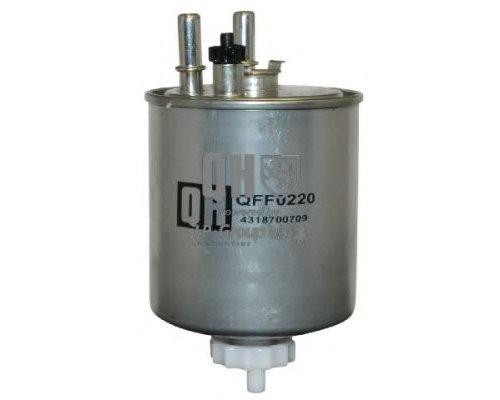 Фильтр топливный (с датчиком воды, до 05.2009) Renault Kangoo II 1.5dCi 2008-2009 QFF0220 QH (Германия)