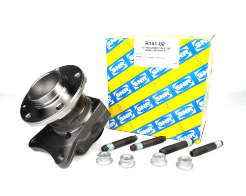 Подшипник ступицы задний (ступица, дисковые тормоза) Fiat Scudo II / Citroen Jumpy II / Peugeot Expert II 2007- R141.02 SNR (Франция)