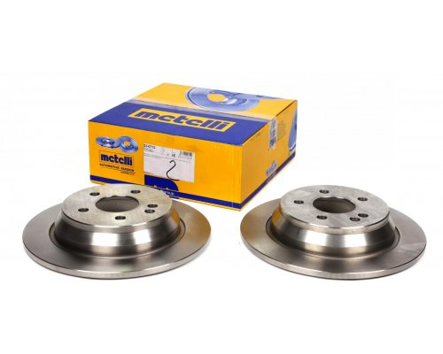 Тормозной диск задний (296х10мм) MB Vito 639 2003- 23-0712 METELLI (Италия)