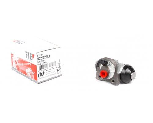 Цилиндр тормозной рабочий задний (не для повышенной нагрузки) Renault Kangoo / Nissan Kubistar 97-08 R220025A1 FTE (Германия)
