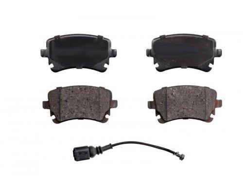Тормозные колодки задние (LUCAS, c датчиком) VW T5 03- RD.23326STD RIDER (Венгрия)
