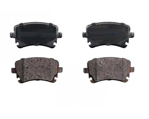 Тормозные колодки задние (LUCAS, без датчика) VW T5 03- RD.3323.DB1557 RIDER (Венгрия)