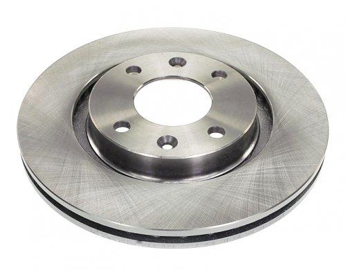 Тормозной диск передний вентилируемый (266x22mm) Peugeot Partner / Citroen Berlingo 1996-2011 RD.3325.DF4184 RIDER (Венгрия)