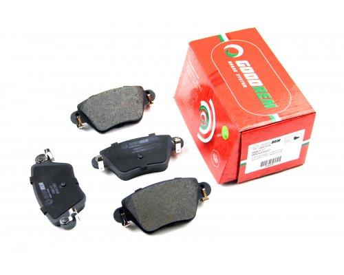 Тормозные колодки задние (полный привод) Renault Kangoo 97-08 RM0117 GOODREM (Венгрия)