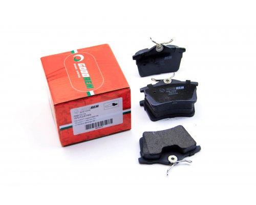 Тормозные колодки задние Peugeot Partner II / Citroen Berlingo II 2008- RM1013 GOODREM (Венгрия)