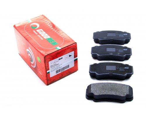 Тормозные колодки задние Fiat Ducato / Citroen Jumper / Peugeot Boxer 2002-2006 RM1024 GOODREM (Венгрия)