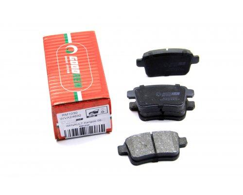 Тормозные колодки задние Renault Kangoo II / MB Citan 2008- RM1030 GOODREM (Венгрия)