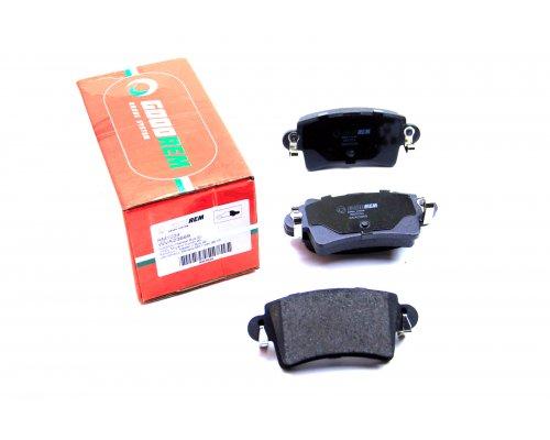 Тормозные колодки задние Renault Master II / Opel Movano 1998-2010 RM1034 GOODREM (Венгрия)