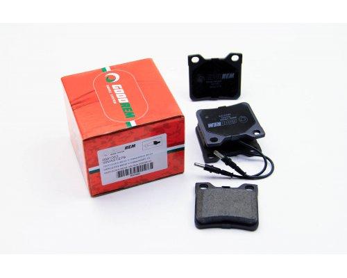 Тормозные колодки задние c датчиком (система ATE) MB Vito 638 1996-2003 RM1063 GOODREM (Венгрия)