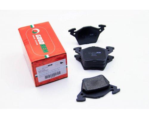 Тормозные колодки задние без датчика (система BOSCH) MB Vito 638 1996-2003 RM1064 GOODREM (Венгрия)